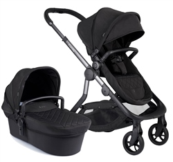 iCandy Orange Pushchair + Carrycot Complete Pram Set - Onyx ( Open Box )
