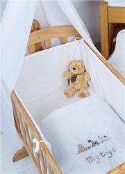 Clair De Lune Rocking Cradle Set  My Toys
