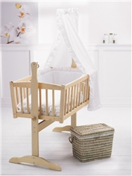 Clair De Lune 4 Piece Rocking Cradle Set