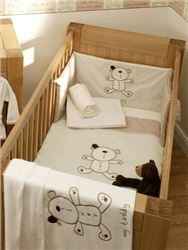 Lollipop Lane Cappuccino 3 Piece Bedding Bale set