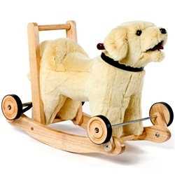 Mulholland and Bailie Labrador Push-a-Long Rocker