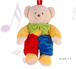 Baby-Bow Musical Pull Teddy