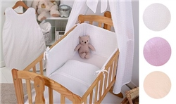 Clair De Lune Bon Bon Rocking Cradle Quilt & Bumper Set