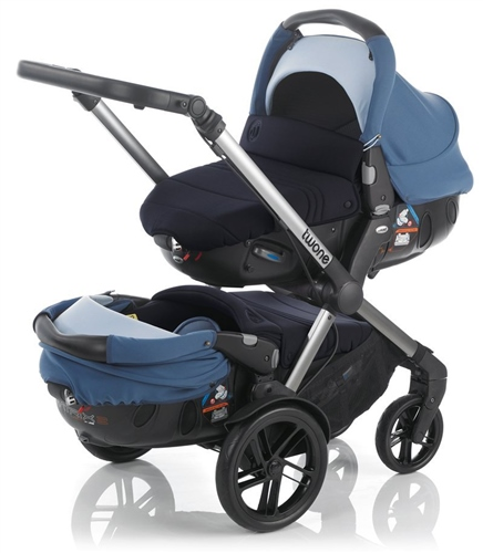 Jane Twone & 2 Matrix Light Travel System Pram  - Click to view larger image