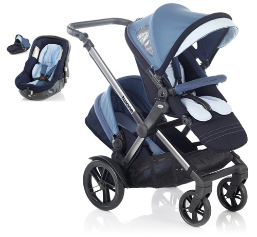 Jane Twone & 1 Matrix Light Travel System Pram  - Click to view larger image
