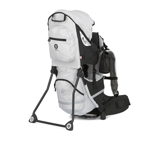 Sky Grey Child Carrier Adventure Walking Back Pack With Canopy Kiddy Baby