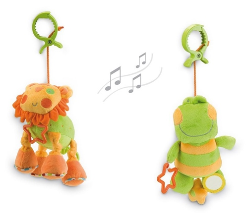 Jane Soft toy with music box  - Click to view larger image