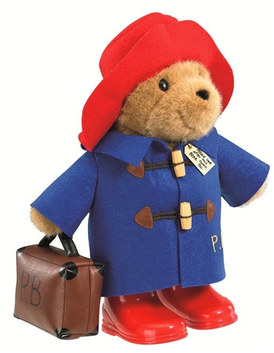 Rainbow Designs Large Classic Paddington with Boots and Suitcase