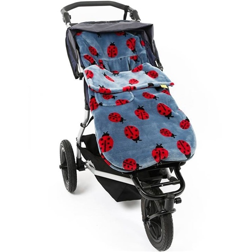 SNUGGLE  BUGGY FOOTMUFF COMPATIBLE WITH BUGGY PUSCHAIR BABY STRAWBERRY