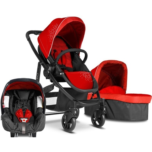 Graco Evo 3-in-1 Pushchair  Carrycot & Car Seat  - Click to view larger image