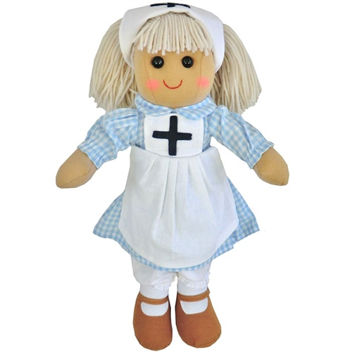 Powell Craft Medium Rag Doll Nurse  - Click to view larger image