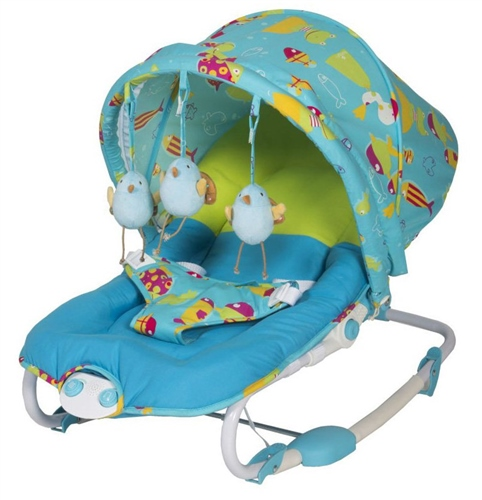 BabyLo Elly Bouncer Sea Dreams - Click to view larger image