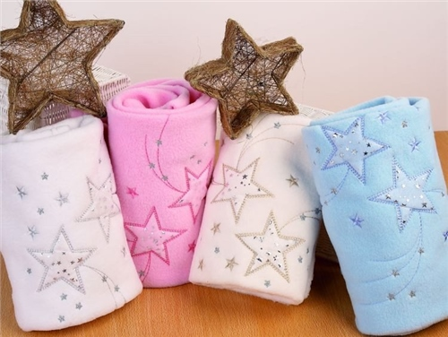 Clair De Lune Stardust Pram & Travel Blanket  - Click to view larger image