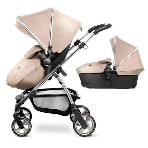Silver Cross Wayfarer pushchair and carrycot  - Click to view larger image