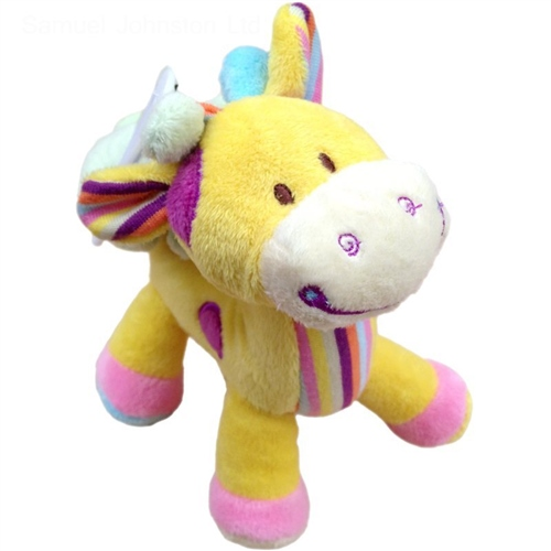 Cuddles Time Giraffe Cot Toy  - Click to view larger image