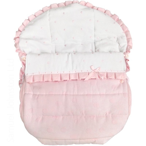 Rosy Fuentes Car Seat Cover  - Click to view larger image