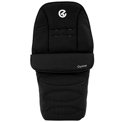 BabyStyle Oyster Collection Footmuff Ink Black