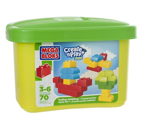 Mega Bloks Mini Tub (70pcs)