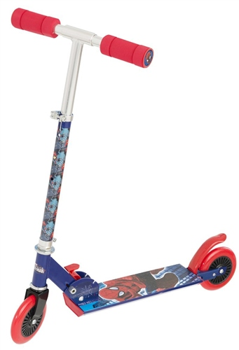 Marvel Ultimate Spiderman Folding Scooter  - Click to view larger image