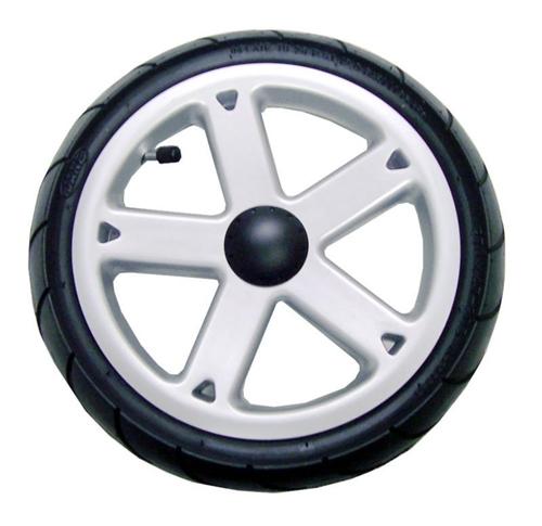 Jane Slalom 5 Spoke Front Wheel Silver