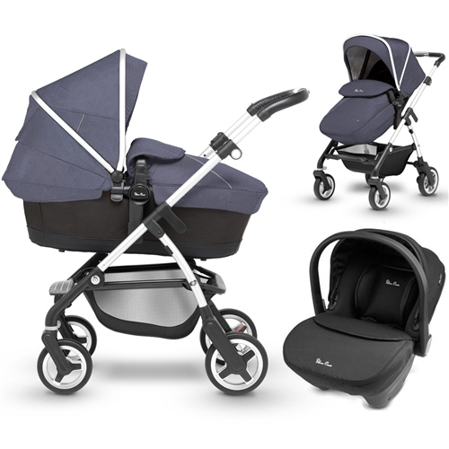 Silver Cross Wayfarer + Simplicity Car Seat  - Click to view larger image