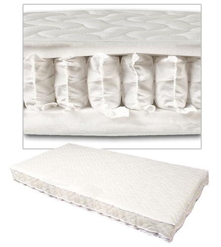 Johnston's - Fully Sprung Cot/Cotbed Mattress