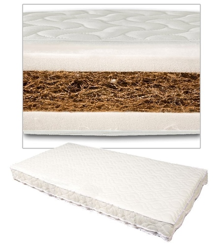 Johnston's - Coconut Coir Cot/Cotbed Mattress