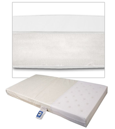 Johnston's Crib Foam Safety Mattress  - Click to view larger image