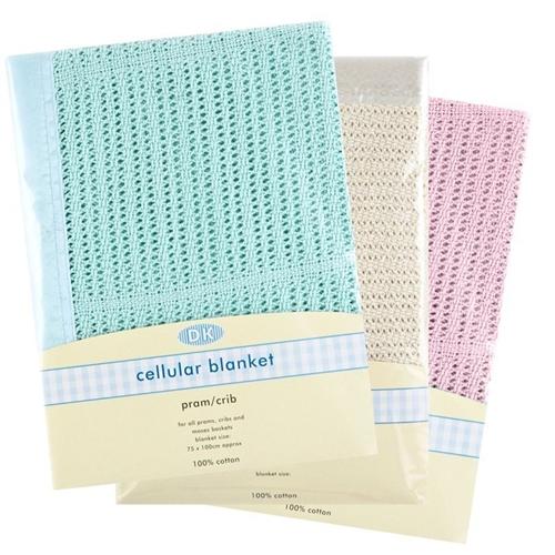 DK Cellular Blanket for Pram/Crib