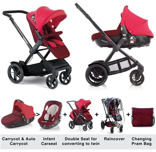 Jane Twone Matrix Travel System (Package Deal)  - Click to view larger image