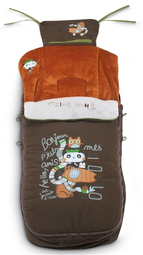Jane Limited Edition Nest Plus footmuff Forest