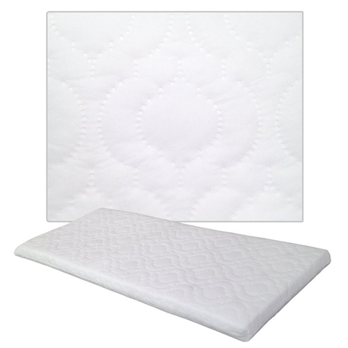 Johnston's Crib Quilted Foam Safety Mattress  - Click to view larger image