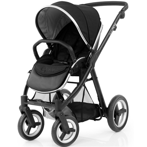 BabyStyle Oyster Max 2 Ink Black on Black Chassis - Click to view larger image