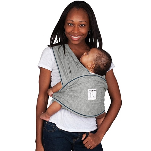 Baby K'tan Cotton Carrier - Heather Grey (Medium)