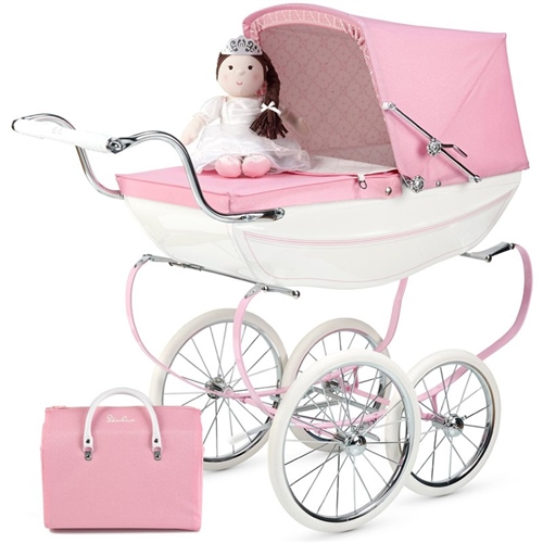 Silver Cross Princess Dolls Pram  - Click to view larger image