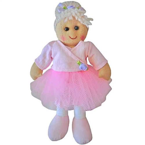 Powell Craft Small Rag Doll Ballerina  - Click to view larger image