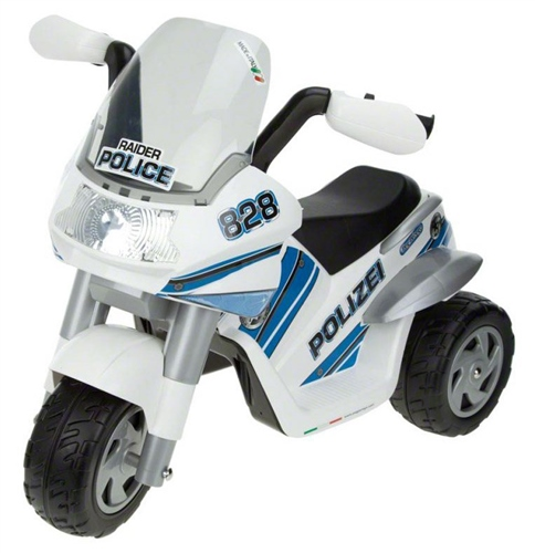 Peg Perego Raider Police-Polize 6 Volt  - Click to view larger image