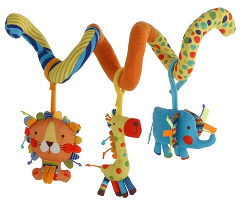 Jane Activity Spiral with 3 Toys  - Click to view larger image