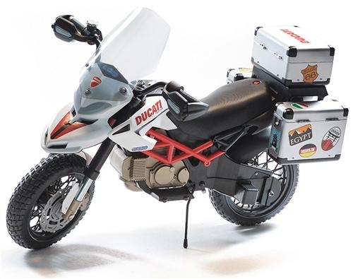 Peg Perego Ducati Hypercross 12 Volt Kids Motorbike  - Click to view larger image