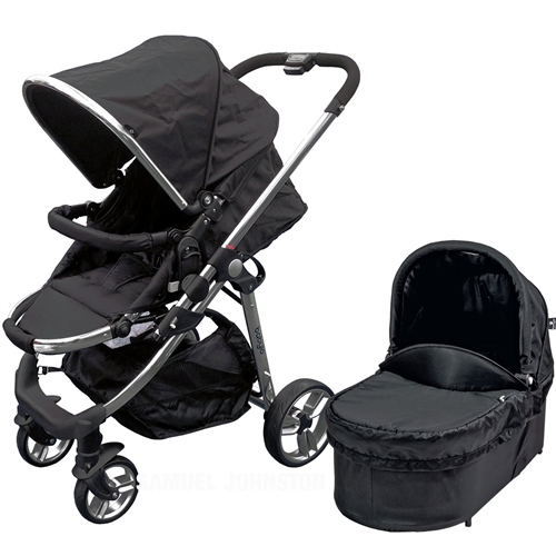 BabyLo Vector Pushchair + Carrycot  - Click to view larger image