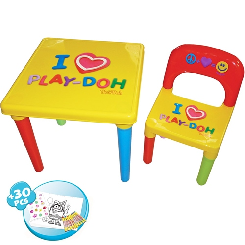 PlayDoh My First Activity Table and Chair Set  Creative Kit