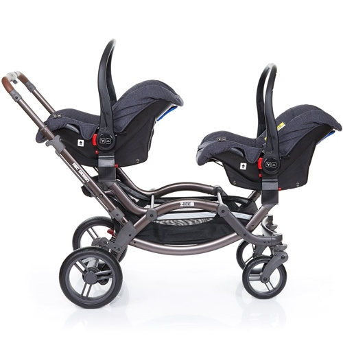 ABC Design Zoom Style Tandem  2 Risus car seats