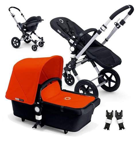 Bugaboo Cameleon3 Alu/Black + Cabriofix  - Click to view larger image