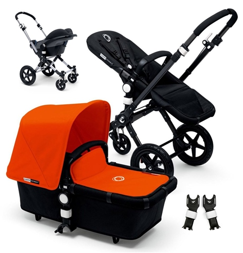 Bugaboo Cameleon3 Black/Black + Cabriofix  - Click to view larger image