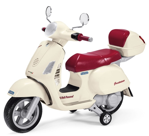 Peg Perego Vespa with case 12 Volt  - Click to view larger image