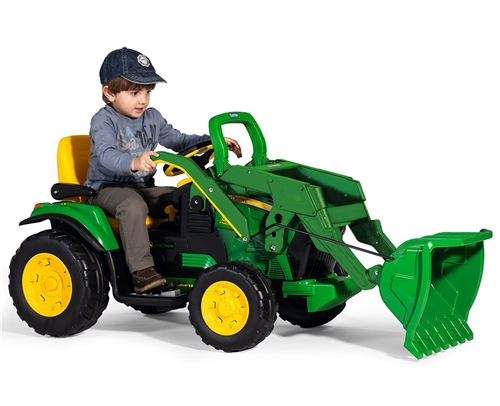 Peg Perego John Deere Ground Loader 12 Volt  - Click to view larger image