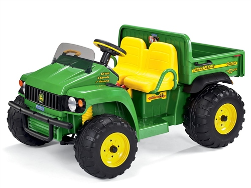 Change Battery John Deere Gator Toy