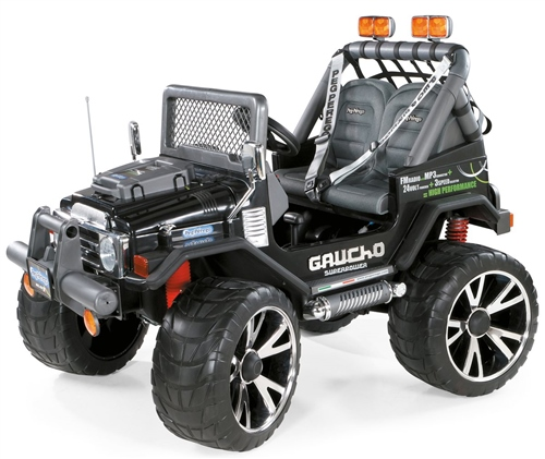Peg Perego Gaucho Superpower 24 Volt 2 Seater Jeep  - Click to view larger image