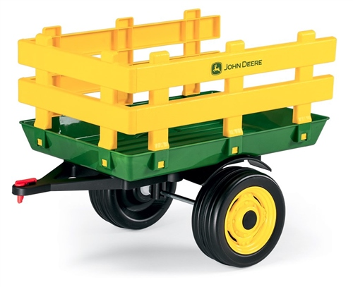 Peg Perego John Deere Stake-Side trailer  - Click to view larger image