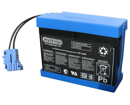 Peg Perego 12v - 4.5 Ah Battery for Vespa  - Click to view larger image